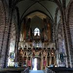 The magnificent church organ
