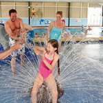 Heated indoor pool at Seashore holiday park