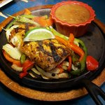 Fish Fajitas with Mahi