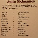 State Nicknames from the 1800's