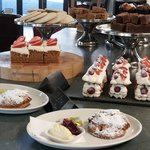 Cakes at Cafe Ambio