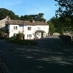 View from front of Buck Inn Malham