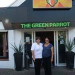 Maritza and me at the Green Parrot