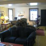  Guest Lounge at Fishers Loft Inn