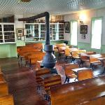 Inside schoolhouse