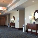 Banquet room entrances