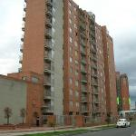 This a Picture of the Apartments in Bogota, Colombia