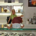  Barbie says this is the best gelato she has eaten in all her travels!