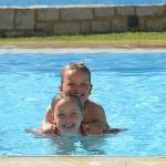 The fabulous pool - kids were confident swimmers by end the end of our stay