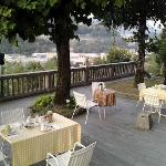  La terrazza dove (meteo permettendo) si fa colazione