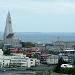  View over Reykjavik from The Pearl