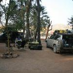 Campsite at Epupa Falls