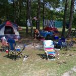  Campsite in the Tent area