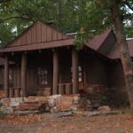 back of cabin #17