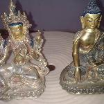 My beautiful statues purchased at Jewel Caravan