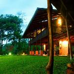 Casa Luna at twilight. A magical place to stay