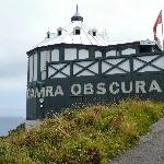 Rear view of the camera obscura