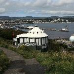 Over view of bay and camera obscura