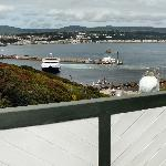  view of douglas bay from the camera obscura