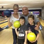 Channel 3's Kris Pickel visited Bay Lanes with her family
