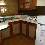  Kitchen, roomy but did not utilize for cooking.