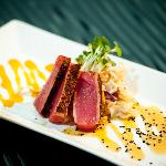 Hawaiian Blackened Ahi Tuna Appetizer