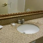small bathroom facet