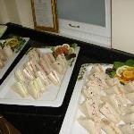 Fresh sandwiches on Menu
