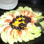 Fruit platter booked for function