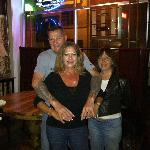 Manager/Bartender Joe - Check out my new tats!
