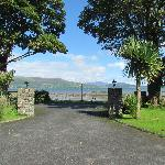  Looking out the gates to Carlingford Lough