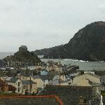 View of Ilfracombe harbour from the Olive Shed room window