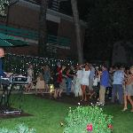 Party  in giardino