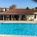 warmest pool in Tsilivi !
