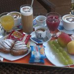  La buonissima e abbondante colazione