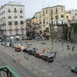 Piazza Nolana, view from the balcony