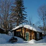 Winter Exterior Cottage