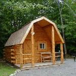 Camping Cabin in Campground