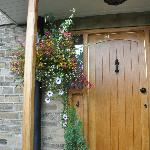  Front door of Moorland view