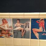  Retro washroom tiles
