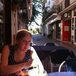  great little tapas bar on the opposite corner of the square
