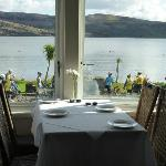 Restaurant View at The Royal an lochan