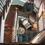 The Grand Victorian B&B staircase ~