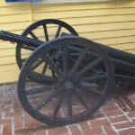  Old Cannon in the Courtyard