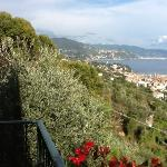  magnificent view from our balcony at Villa Gnocchi