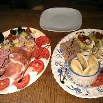  Italian &amp; Maltese Platters for one person!