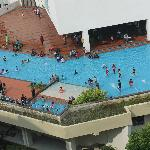  The pool with the neverending guests