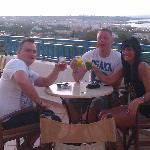 cheers look at that view