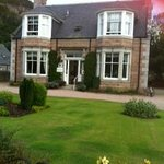 The front of the beautiful Moorside House