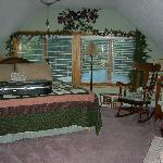 The Pines - beautiful, spacious and has a beautiful gas fireplace. Very romantic!